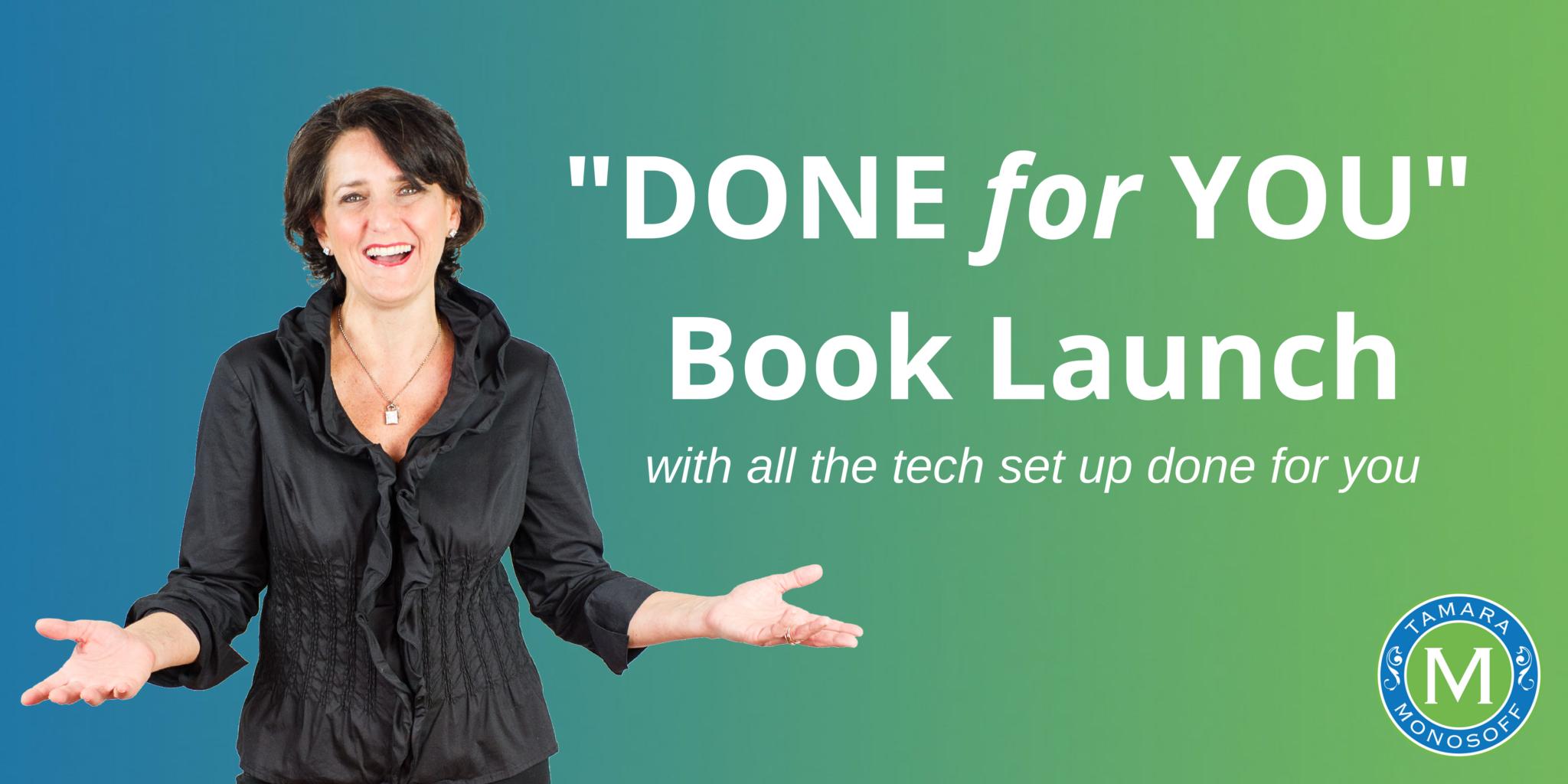 Tamara Monosoff Done for you Programs for Authors